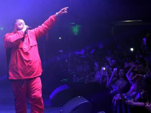 DJ Khaled performs onstage at the 2017 Maxim Hot 100 Party.