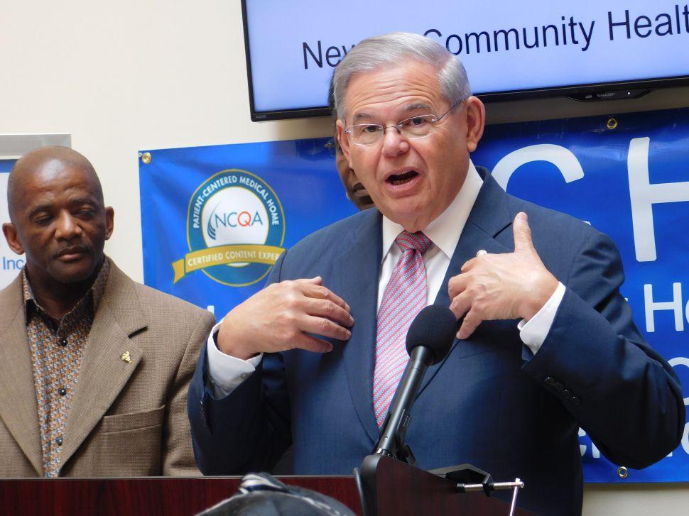 Menendez Weighs in on 'Devastating' Senate Health Care Bill