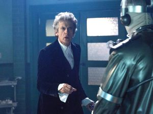 Peter Capaldi in Doctor Who.