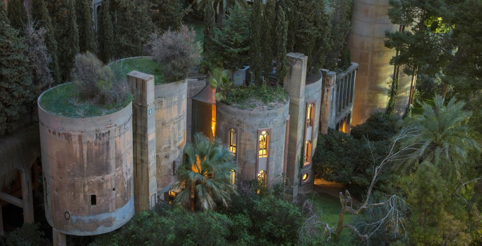 This Abandoned Cement Factory Is Now an Enchanting Modern Mansion