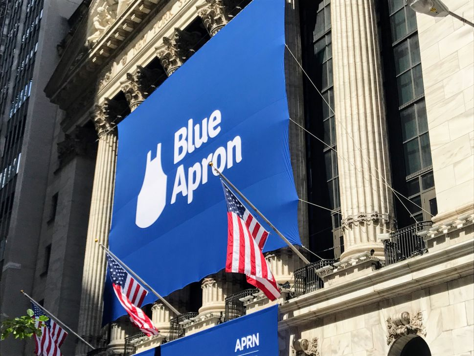 Blue Apron Paired Its Low IPO Price With a Lavish Wall Street Celebration