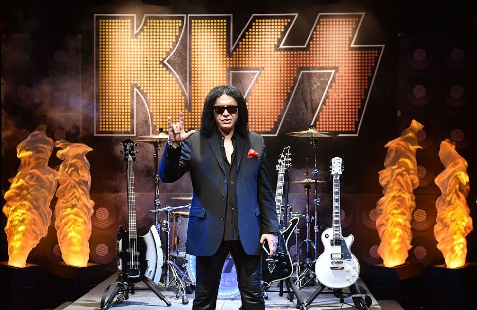 Gene Simmons Wants to Trademark This Rock and Roll Hand Sign