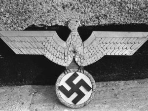 Some of the Nazi memorabilia found at the home of English serial killer Patrick Mackay, 3rd November 1975. Mackay claimed to have murdered eleven people in England in the mid 1970s. (Photo by )