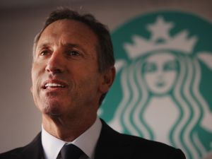 Starbucks Executive Chairman Howard Schultz.