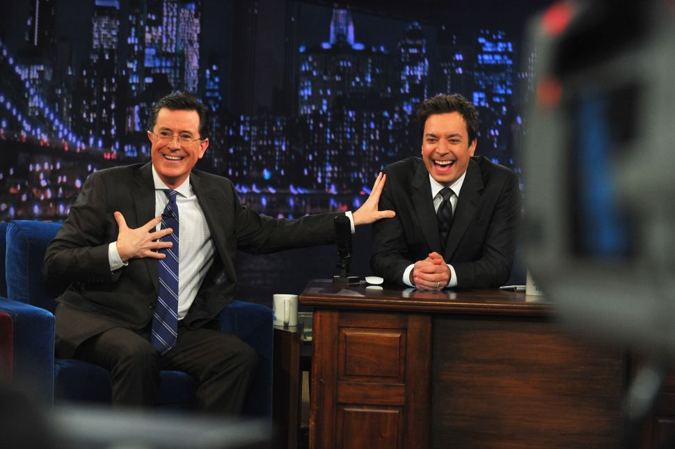 The Fallon vs. Colbert Fight for Late Night Is About More Than You Think