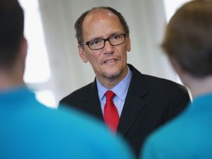 DNC Chair Tom Perez.