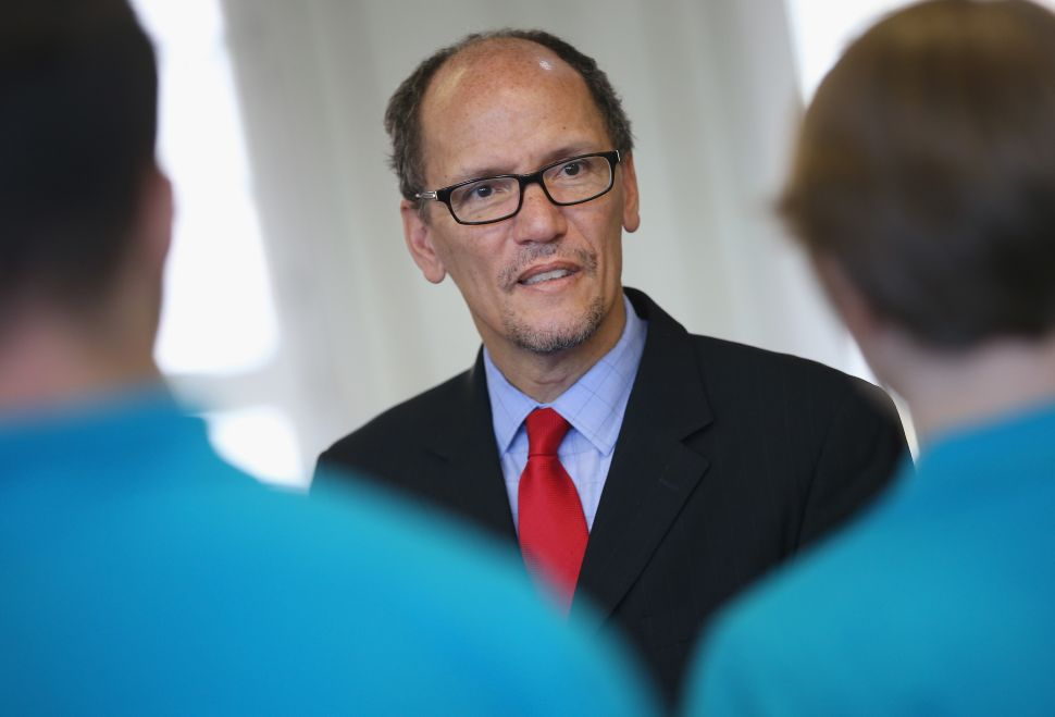 DNC Chair Tom Perez Already Facing Pressure to Resign