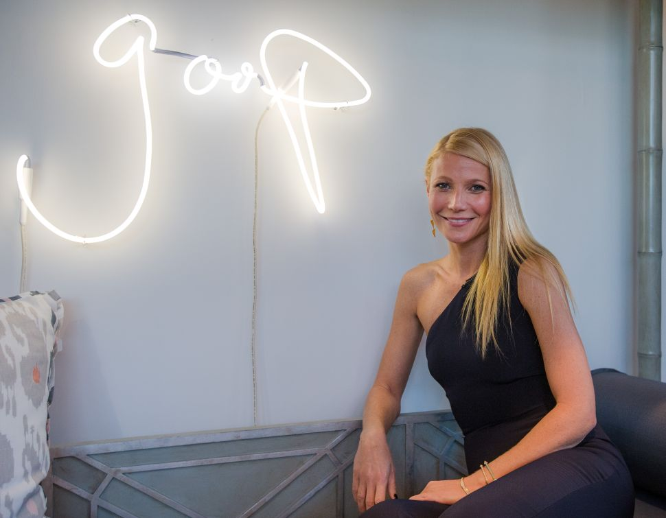 The Menu at the First Ever Goop Wellness Summit Is Very…Goop-y