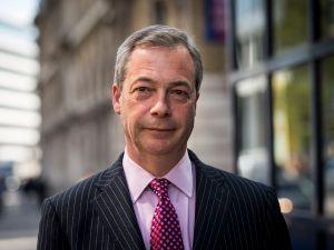 Nigel Farage, leader of the UK Independence Party (UKIP).