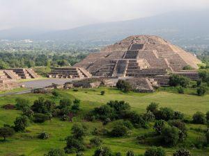 Mexico, Anahuac, Teotihuacan, Moon Pyramid.