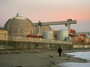 The San Onofre atomic power plant in California.