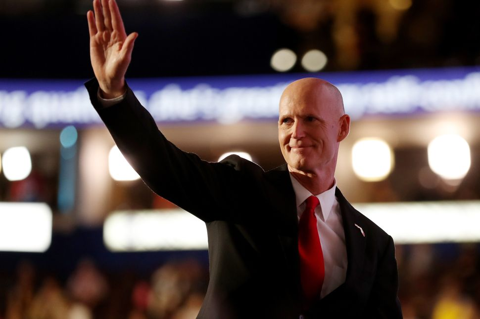 Rick Scott Says Bill de Blasio and Andrew Cuomo Are Great for the Florida Economy