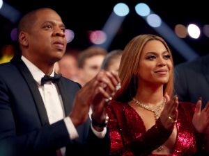 Did President Obama announce the gender of Beyoncé's babies?