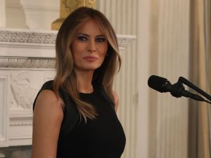 First Lady (and Dr. Seuss fan) Melania Trump
