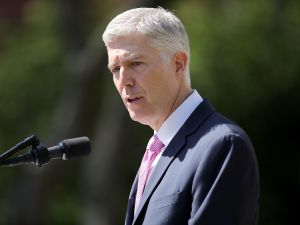U.S. Supreme Court Associate Justice Neil Gorsuch.
