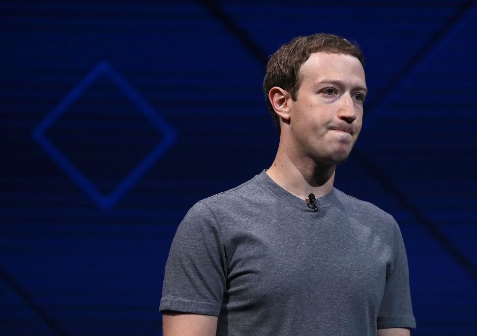 Facebook Shareholders Claim Zuckerberg's Dual Roles Are Harming the Company