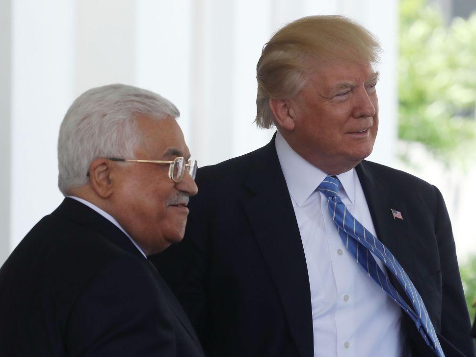 Palestinian Authority Defies Trump, Calls Funding Terrorism 'Humanitarian Aid'