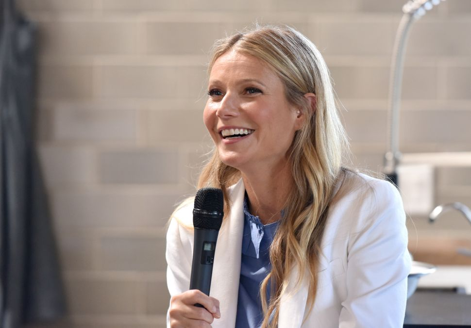 Gwyneth Paltrow Wants to Know If Men Are 'Crystal-Curious'