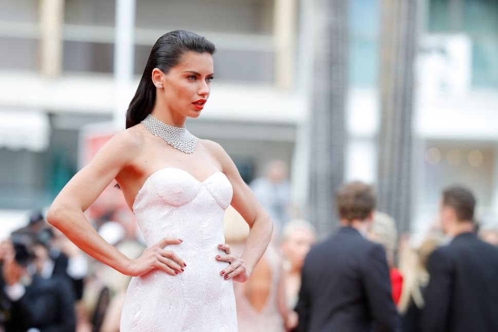 Adriana Lima Is Engaged to Herself; Ansel Elgort Designs Shoes