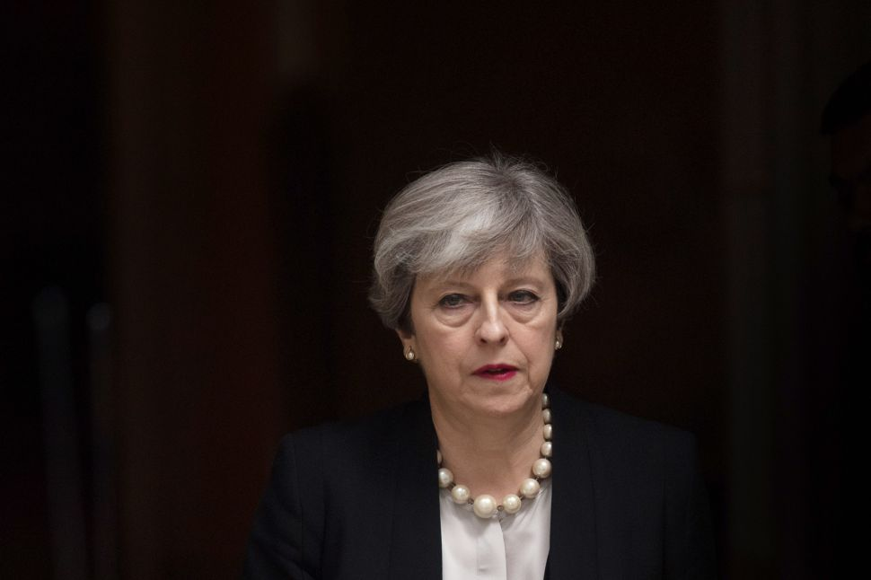 I'd Like to Flog the 'Manifesto Men' Responsible for Theresa May's Electoral Disaster
