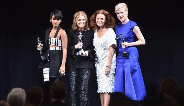 Janelle Monae, Gloria Steinem, Diane von Furstenberg and Cecile Richards.