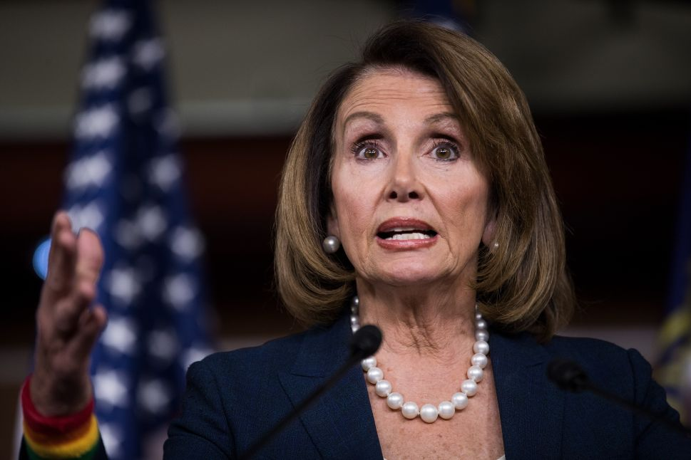 Democrats Realize 2010 'Fire Nancy Pelosi' Campaign Has Been Working