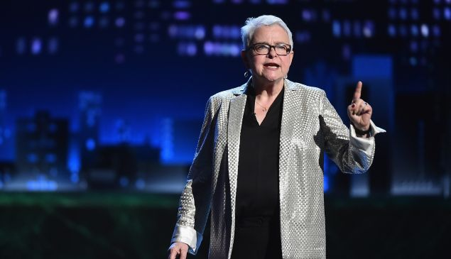 Paula Vogel at the Tony Awards. Her play 'Indecent' is getting a new lease on life.