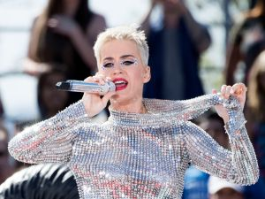 Katy Perry is surrounded by adoring fans both in public and on social media.