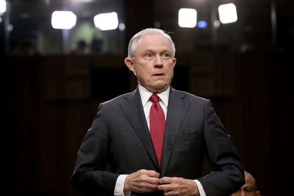 Jeff Sessions Draws New Battle Lines for War on Drugs