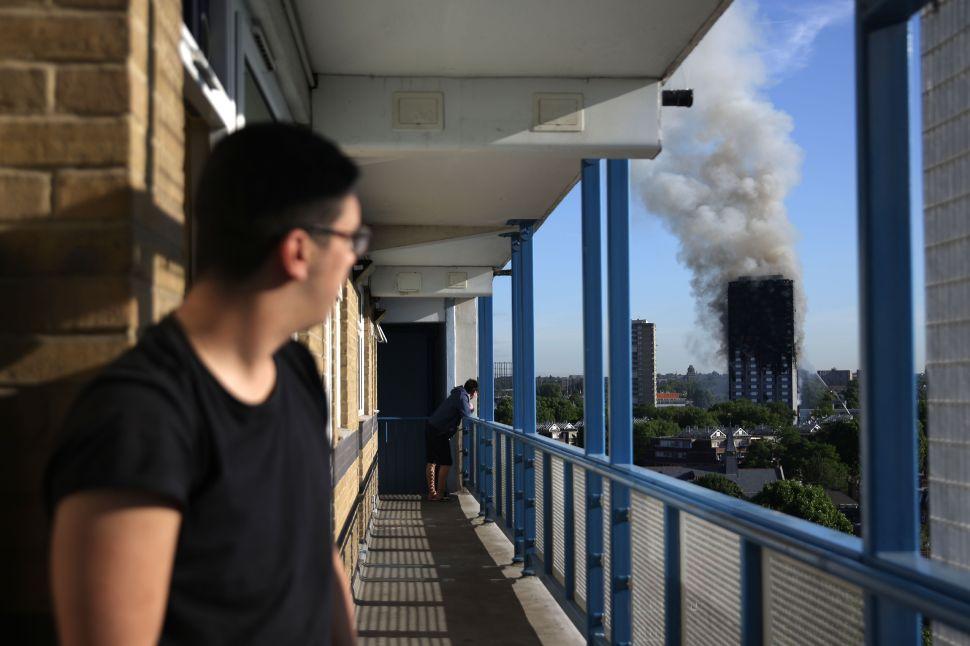 Sadiq Khan: Why Is Terrorism in London Inevitable but Fire Isn't?