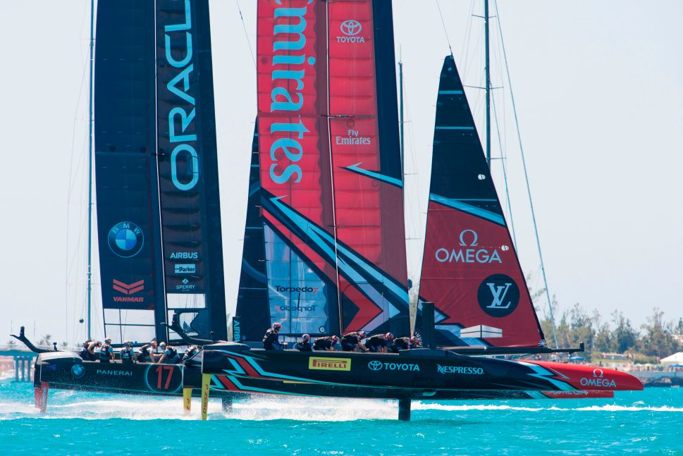 Underdog ENTZ Pulls Off Upset in America's Cup, Stuns Team Oracle USA