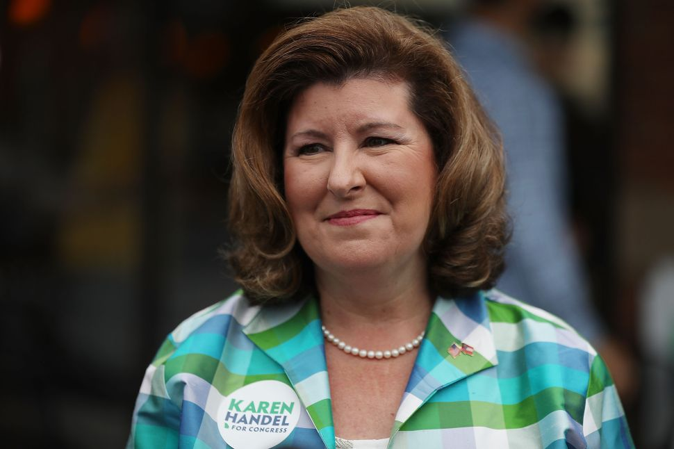 In Georgia, Handel Wins Handily, Ossoff Penalized for Centrism