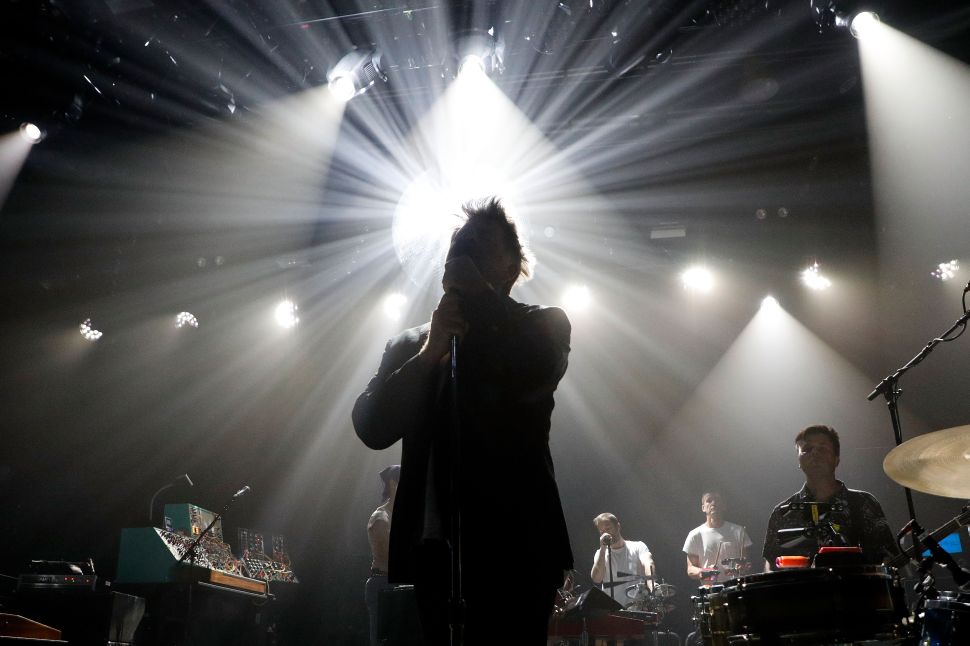 LCD Soundsystem Ends Brooklyn Steel Show With Cool Kid Crowd-Pleaser