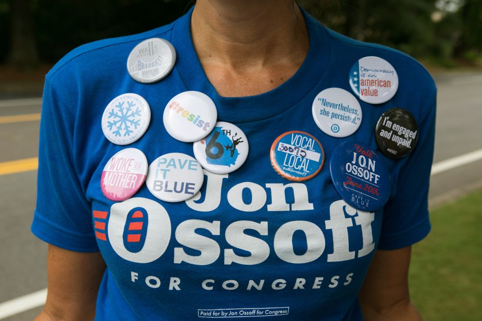 What Ossoff's Near-Flip of a Blood-Red District Means for Team Blue