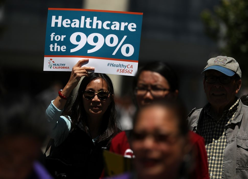 Corporate Democrats Sabotage Single Payer Bill in California for Wealthy Donors