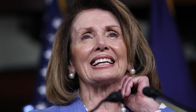 A recent poll found Nancy Pelosi's favorability at 39 percent – about on par with Trump's.