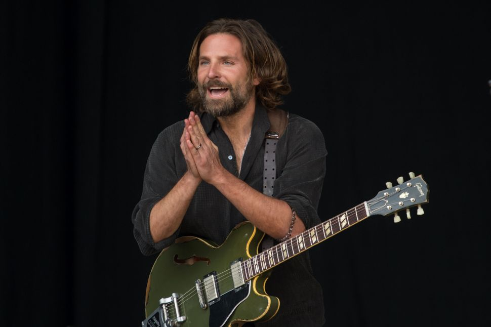 New 'A Star Is Born' Footage Shows Bradley Cooper Becoming a Rock Star