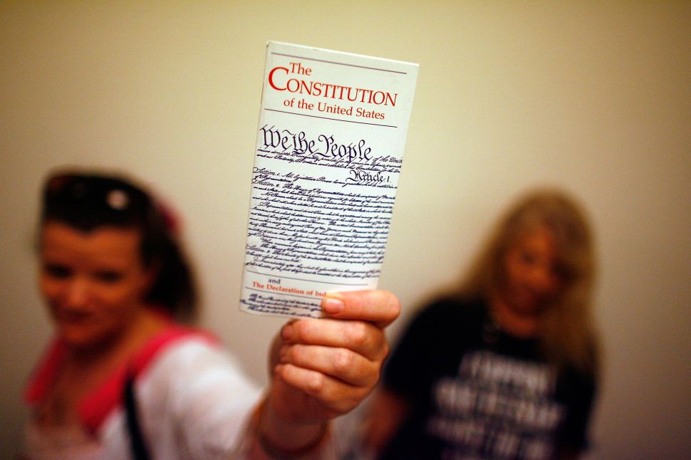 A Modern Patriot's Silent Journey Through the US Constitution