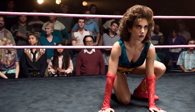 Alison Brie in Glow.