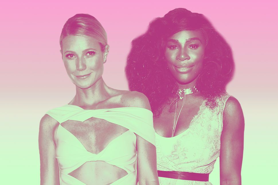 Gwyneth Paltrow and Serena Williams Are Teaming Up