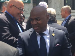 Newark Mayor Ras Baraka.
