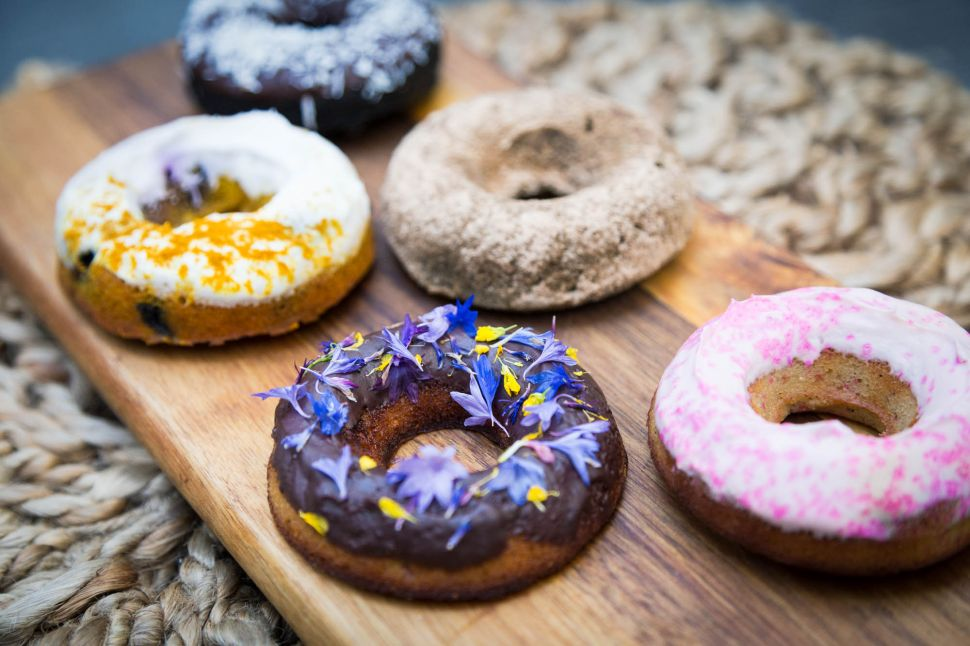 See This Trendy Brooklyn Café Serve Up Guilt-Free Superfood Donuts