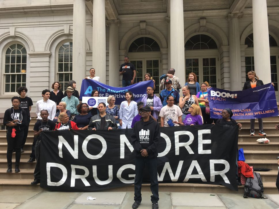 Advocates Say NYC's Anti-Overdose Program Spends Too Much on Cops, Not Enough on Intervention