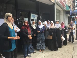 The Arab American Association of New York hosted a community vigil for a 17-year-old black Muslim teenager killed in Virginia.