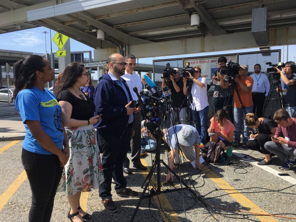 As Trump's New Travel Ban Set to Begin, Muslim and Immigrant Advocates Return to JFK
