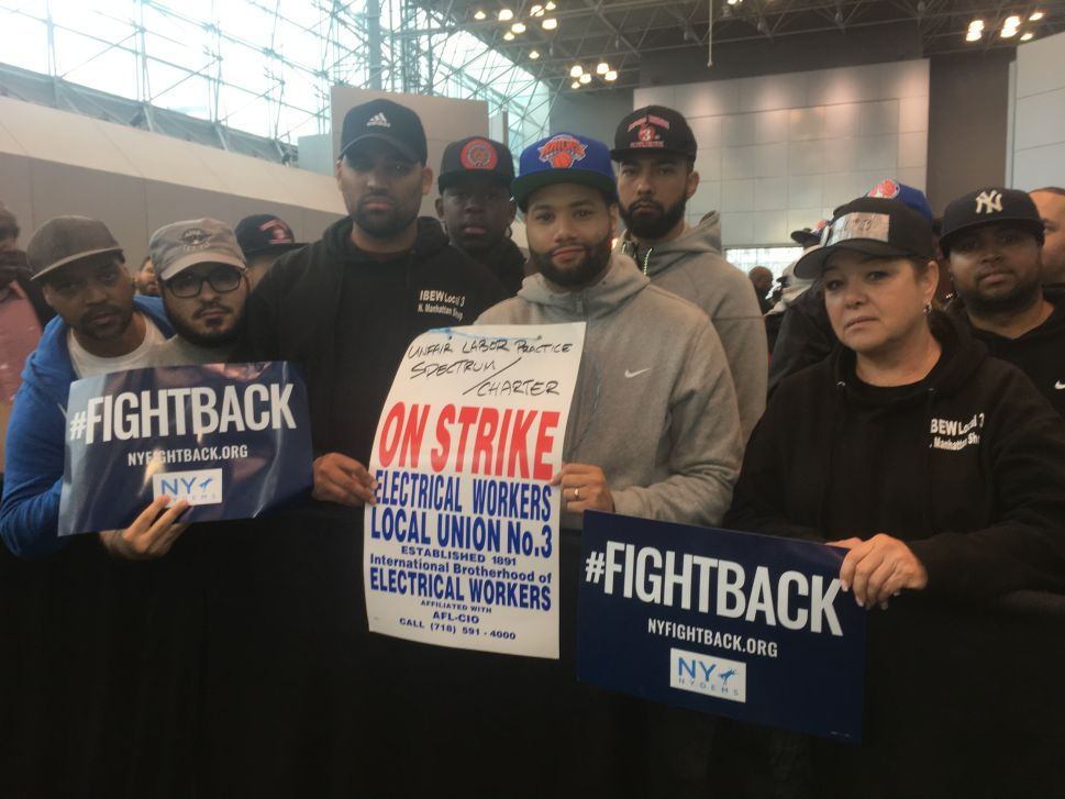 Cuomo and Pelosi's Union Rally for a Democratic House Leaves Striking Workers 'Disappointed'