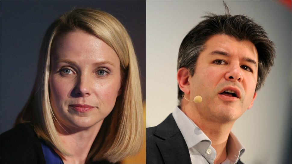 It Sure Looks Like Marissa Mayer Wants to Be Uber's New CEO