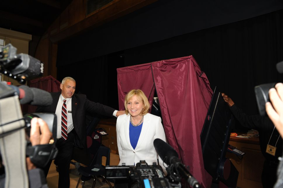 Murphy Attacks Guadagno for Silence on Trump's Voter Fraud Commission
