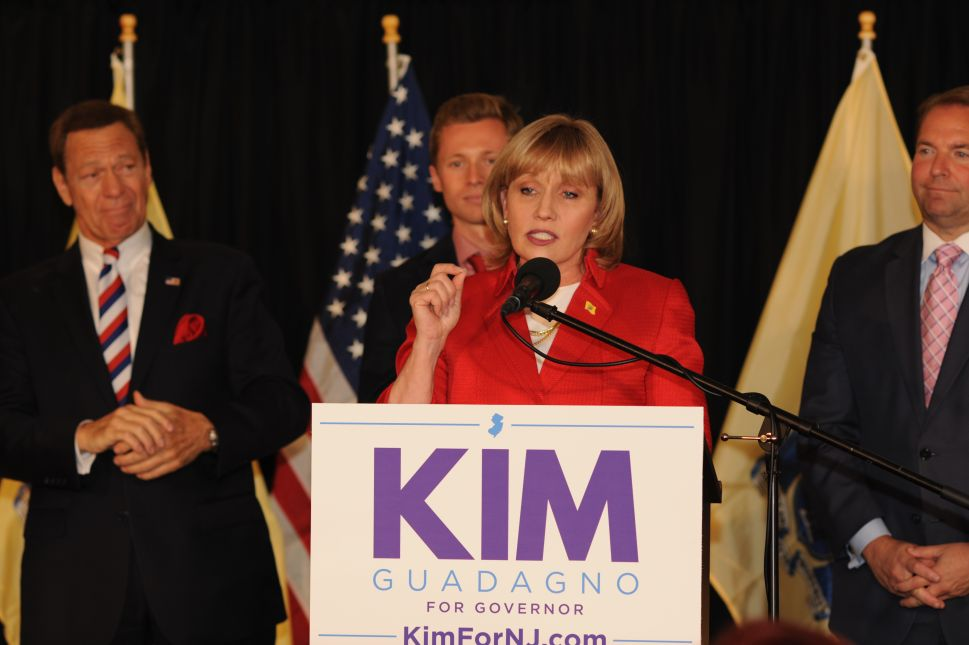 Kim Guadagno Wins GOP Nod to Succeed Christie