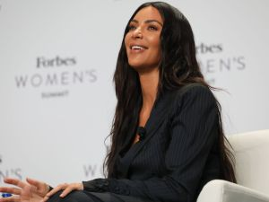 Kim Kardashian West at Forbes Women's Summit